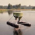 ffaz fischfutterautomat Aquakultur in natÅrlichen GewÑssern Regenbogenforelle Bachforelle Karpfen Lachs
