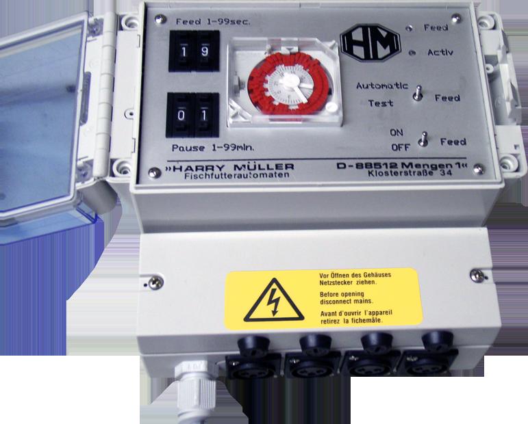 Steuerung Futterautomat - ffaz fischfutterautomat elektronische steuerung zk810 12-24 v