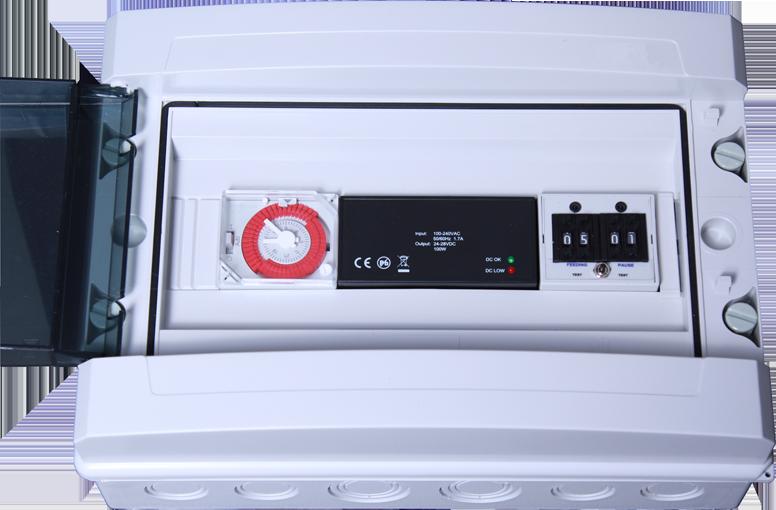 ffaz fischfutterautomat elektronische steuerung zk812 ein modul